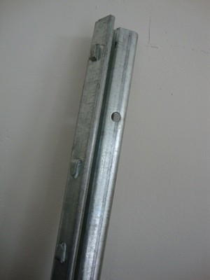 Forstprofil verzinkt 1800 mm