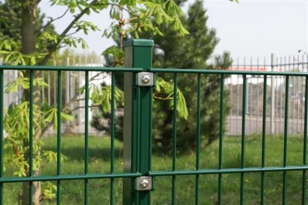 Doppelstabmatten Höhe 0,63m x B 2,50 m grün