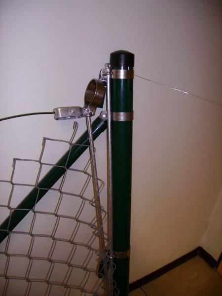 Endgarnitur grün 50 mm für Gitterhöhe 1,25m