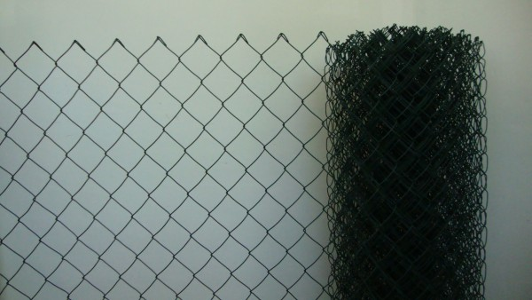 Maschendrahtzaun grün, Gitterhöhe 1,50 m Rollenlänge 25 lfm