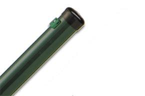 Steher grün 40 mm für Gitterhöhe 1,25 m