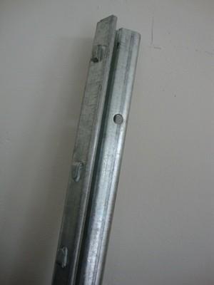 Forstprofil verzinkt 2100 mm